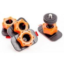 Sticky Mounts - černá/oranžová