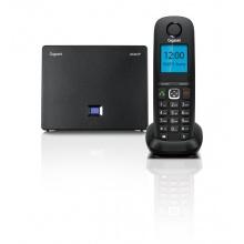 GIGASET-A540IP Gigaset - DECT/GAP bezdrátový IP telefon, 6 SIP účtů, až 3 hovory zároveň, barva černá