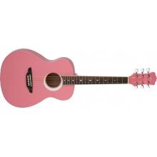 LUNA GUITARS Aurora Borealis 3/4 Black akustická kytara