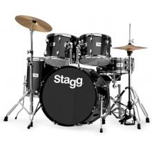 Stagg TIM322B SPBK, bicí sada, černá perleť