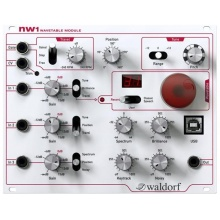 Waldorf nw1 Wavetable, Syntézový modulátor, eurorack, USB