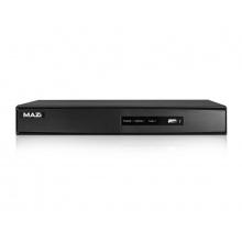 HAVR-08LT, hybridní DVR pro 8 kamer AHD/TVI/IP/analog, až 2 Mpx, 720p Real-Time, 1x SATA, MAZi