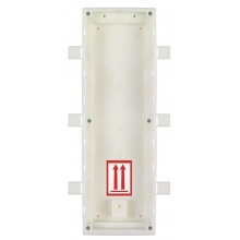 ATEUS-9155016 2N IP Verso, zápustná krabice pro instalaci do zdi, 3 moduly