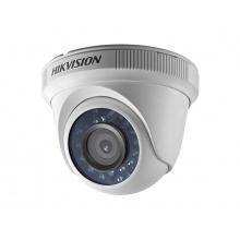 DS-2CE56D0T-IRF/28, venkovní dome AHD/TVI/CVI/CVBS kamera 2 Mpx, f2.8mm, IR 20m, Hikvision
