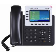 GXP-2140 Grandstream - IP telefon, barevný LCD, 4x SIP účty, 4x linky, 2x RJ45 Gb, POE, 5x prog. tl.