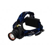 Svítilna čelovka CATTARA LED 400lm (1x XM-L+15x SMD)