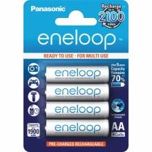 4MCCE/4BE Panasonic - ENELOOP AAA mikrotužkový akumulátor 800 mAh - nabíjecí (cena za 4 ks/baleno po 4 ks)