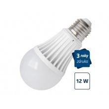 LED žárovka Geti A60, E27, 12W, bílá teplá