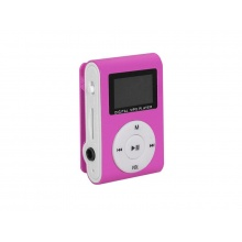Přehrávač MP3 SETTY LCD PINK