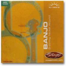 Stagg BJ-1023-NI, sada strun pro banjo