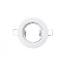 Svítidlo podhledové pevné bílé pro žárovku 50mm MR,GU