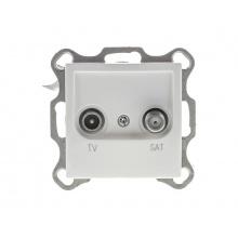 Zásuvka RETLUX RSB A36 AMY TV + SAT