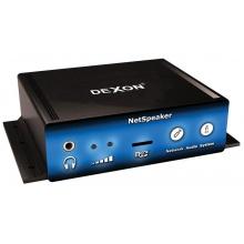 DEXON Systém digitálního IP ozvučení - mini stereo IP zesilovač NetSpeaker -