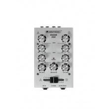 Omnitronic GNOME-202,2 kanálový, stříbrný