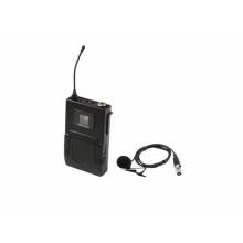 Omnitronic UHF-502 Bodypack incl. lavalier - kapesní vysílač + klopový mikrofon (CH B orange)