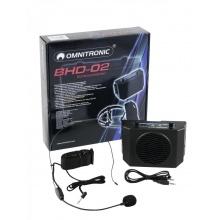 Omnitronic Průvodce 02 - opaskový zesilovač + náhlavní mikrofon