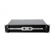 Omnitronic SMA-1000 - stereo výkonový zesilovač s vestavěným limiterem a SMPS