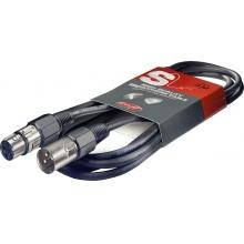 Stagg SMC6 - mikrofonní kabel, XLR/XLR, 6m
