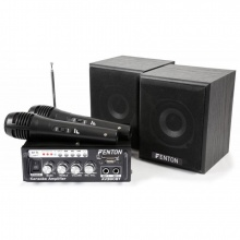 Fenton -  mini Karaoke Audio Set s MP3, FM, Bluetooth
