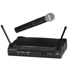 Omnitronic VHF-250 214.00 MHz - bezdrátový mikrofonní set VHF
