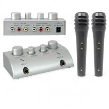 Skytec karaoke set se 2 mikrofony
