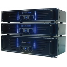 Skytec  PRO-1000 - výkonový PA zesilovač,  2x 500 W, černý