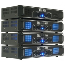 Skytec SPL-400 - PA výkonový zesilovač,  2x 150 W