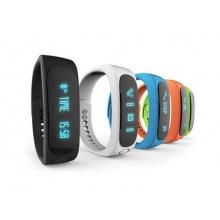 Fitness náramek FT02, OLED, Bluetooth 4.0, Android+iOS modrá