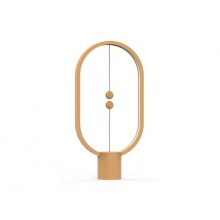 Lampa stolní HENG BALANCE ELLIPSE USB LIGHT WOOD