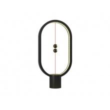 Lampa LED stolní HENG BALANCE ELLIPSE PLASTIC USB BLACK