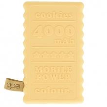 Apei Cookie 4000 mAh Power Bank, béžový (14125)