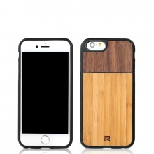 REMAX Tanyet Walnut+Bamboo, for iPhone 6+/6s+