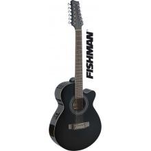 Stagg SA40MJCFI/12-BK - elektroakustická 12-strunná kytara