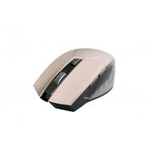 Myš C-TECH WLM-04, bezdrátová, 1600DPI, 6 tlačítek, USB nano receiver