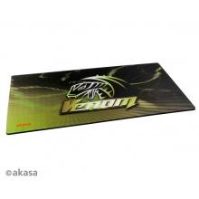 Podložka pod myš AKASA Venom XXL, tloušťka 3mm, přirodní pryž, odolná proti špíně a prachu, žlutá