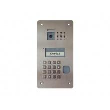 TD2000R, digitální antivandal dveřní kamerová jednotka, RFID čtečka, série Solvo, ACI Farfisa