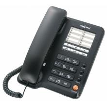 A40-CERNA Concorde - standardní telefon, černá