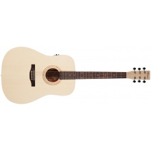 NORMAN Expedition Natural Solid Spruce SG Isys t