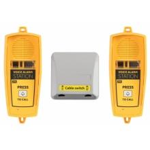 ATEUS-913661ESET 2N® Lift1, SingleTalk, Voice Alarm Station SET, 2x audio hláska na/pod kabinu + 1x switch