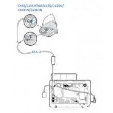 APA-2 Plantronics - elektronický zvedač pro telefony ALCATEL 4028,4029,4038,4039,4068
