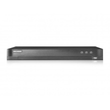 DS-7216HQHI-K2/P, hybridní DVR pro 16+2 kamer AHD/TVI/CVI/CVBS/IP, až 4 Mpx, 2x SATA, PoC, Hikvision