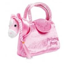 Small Foot Dětská růžová kabelka koník v kabelce Paulina