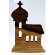 Makovský Dřevěný svícen Kostelík