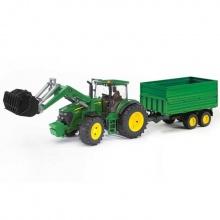 Bruder Traktor JOHN DEERE 7930 + vůz