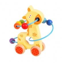 Bigjigs Baby Motorický labyrint žirafa