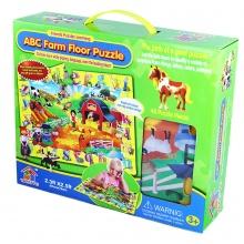 puzzle 48 podlahové - zvířata (od 3 let)