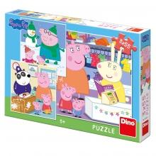 puzzle 3x55 Prasátko Peppa (od 3 let)