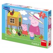 puzzle 24 Prasátko Peppa (od 3 let)