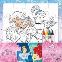 puzzle k vymalování Disney Princezny (od 3 let)