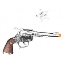 pistole kovbojská s odznakem Sheriff (od 3 let)